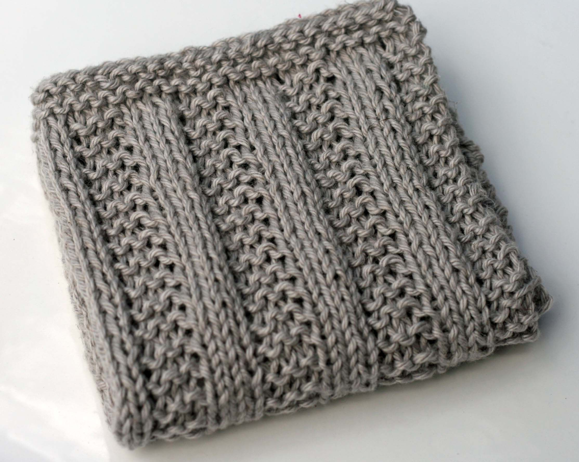 Kitchen Dishcloths # 4 - Knitting Patterns and Crochet Patterns from KnitPick...