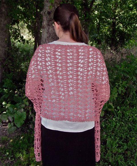 Billow Lace Wrap Pattern Knitting Patterns And Crochet Patterns