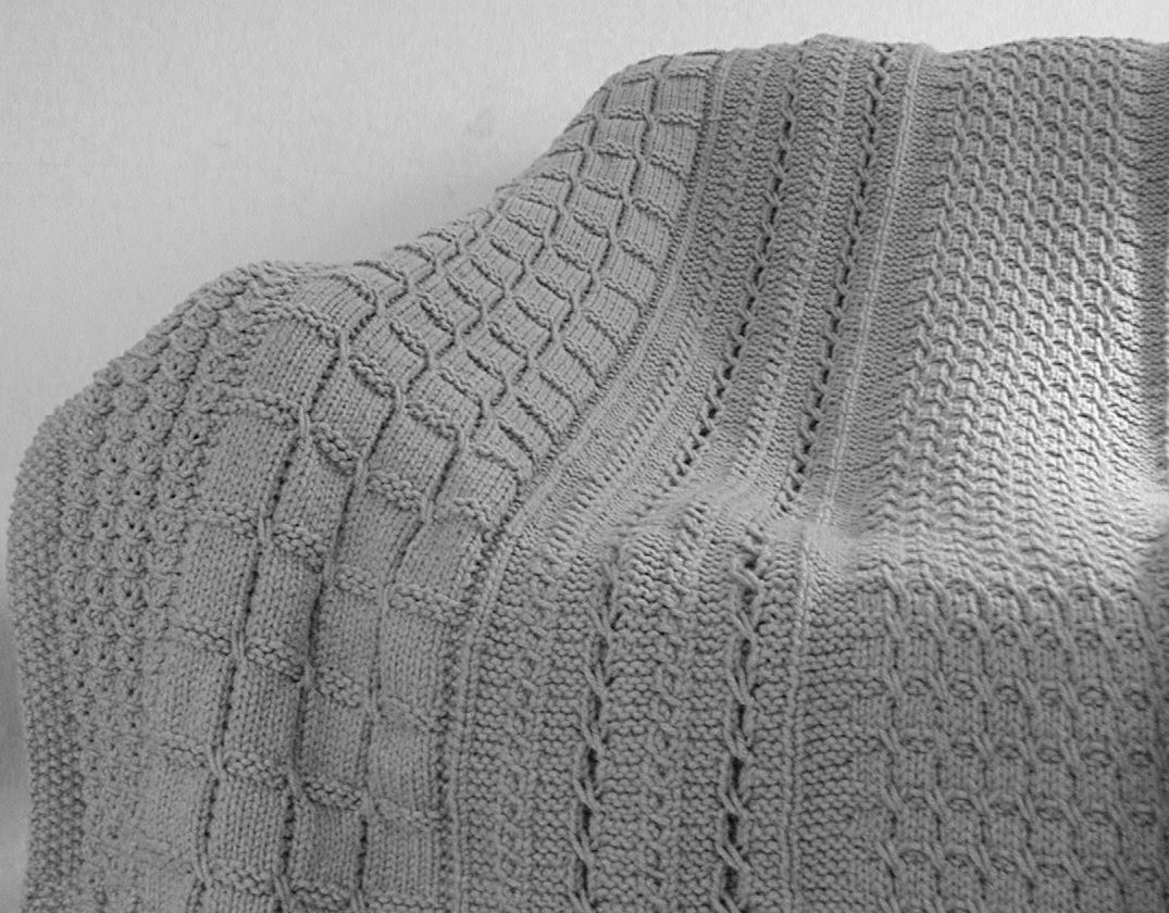 Knitting On The Net Stitches : Skerin aran afghan knitting patterns and crochet