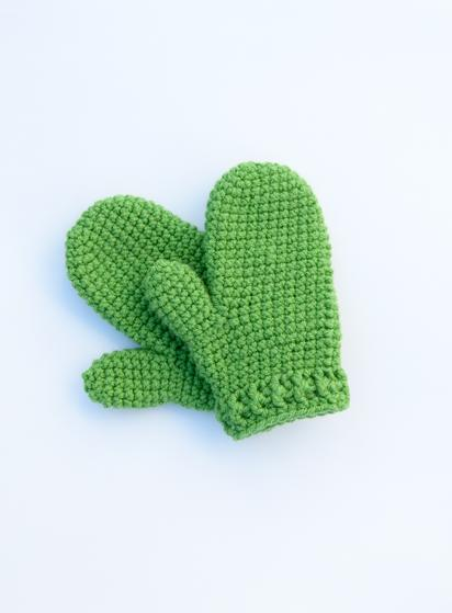 Kids Gifting Crochet Mittens Knitting Patterns And Crochet