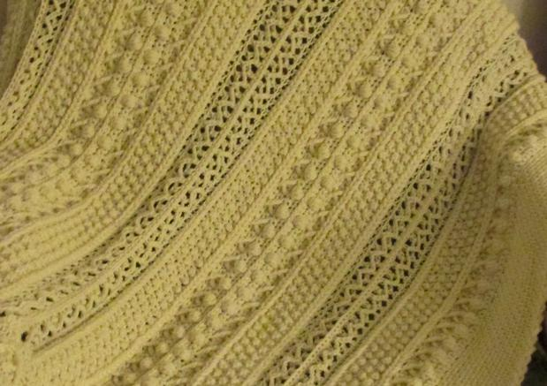 Skerin Aran for My Carolyn Crochet Afghan - Knitting Patterns and ...