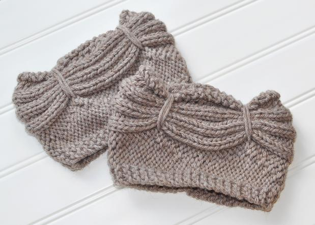 Aurora Boot Cuffs Knitting Patterns And Crochet Patterns From