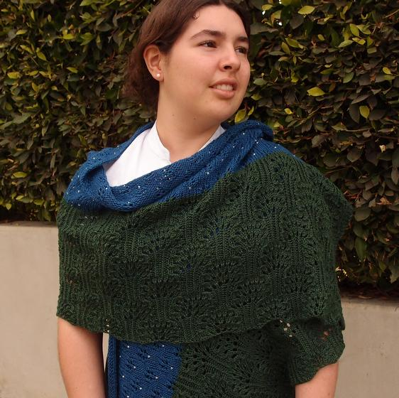 Forest Of Stars Wrap Knitting Patterns And Crochet Patterns From