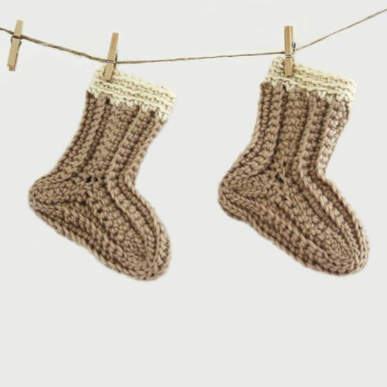 Sew Simple Crochet Baby Socks Knitting Patterns And Crochet