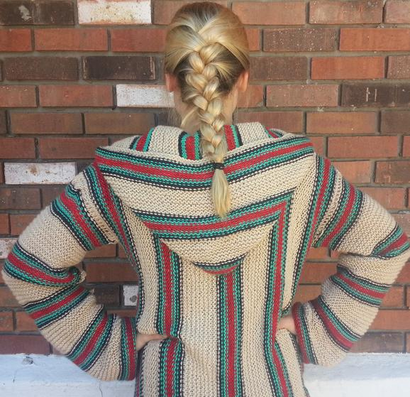 Retro Hippie Hoodie - Knitting Patterns and Crochet ...