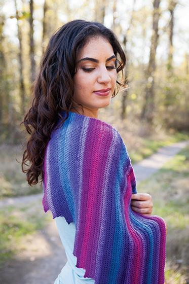 Knitting Pattern For Whisper Scarf : Whispers Crochet Shawl or Shawlette - Knitting Patterns and Crochet Patterns ...