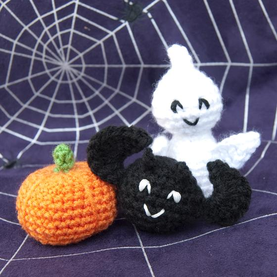 Miniature Halloween Crochet Collection Knitting Patterns And