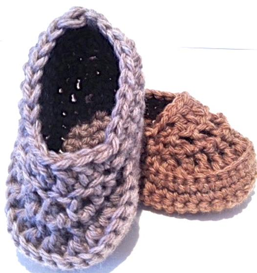 Oh Baby Baby Boy Crochet Loafers Knitting Patterns And Crochet