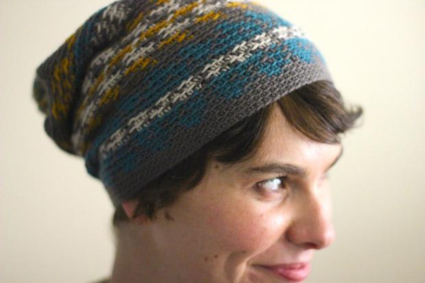 Fair Isle Crochet Hat - Knitting Patterns and Crochet Patterns from ...