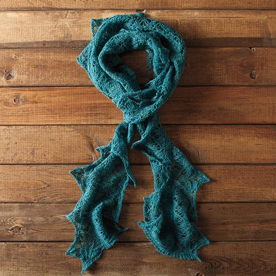 Iona Ruffled Scarf Knitting Patterns And Crochet Patterns From