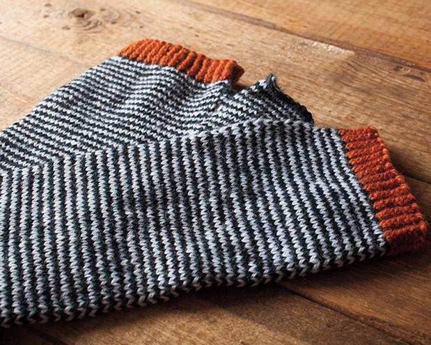 Scrunchy Ombre Arm Warmers Knitting Patterns And Crochet Patterns