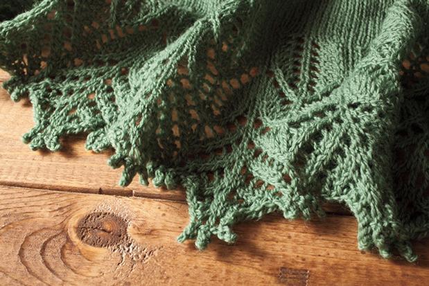 Silvretta Crescent Shawl Knitting Patterns And Crochet Patterns