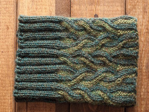 Twisted Lines Boot Toppers - Knitting Patterns and Crochet ...