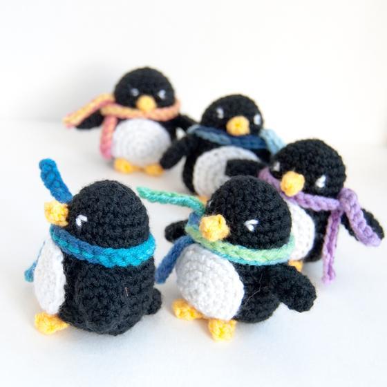 Little Penguin Amigurumi Knitting Patterns And Crochet Patterns