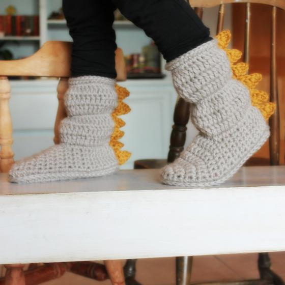 Youth Cozy Crochet Slipper Boots Knitting Patterns And Crochet