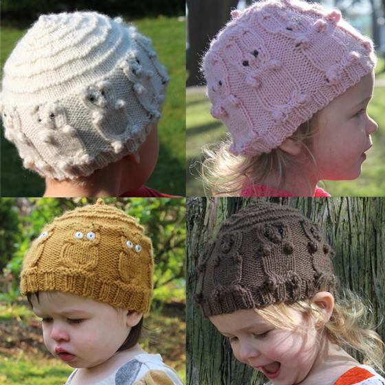Big Top Animal Hats Knitting Patterns And Crochet Patterns From