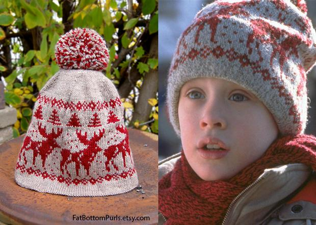 Home Alone Holiday Hat - Knitting Patterns and Crochet Patterns from  KnitPicks.com e0ebe893661