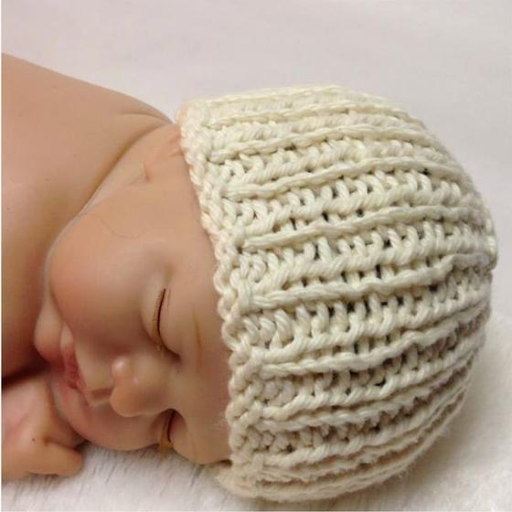 Organic Cotton Heirloom Baby Hat - Knitting Patterns and Crochet ...