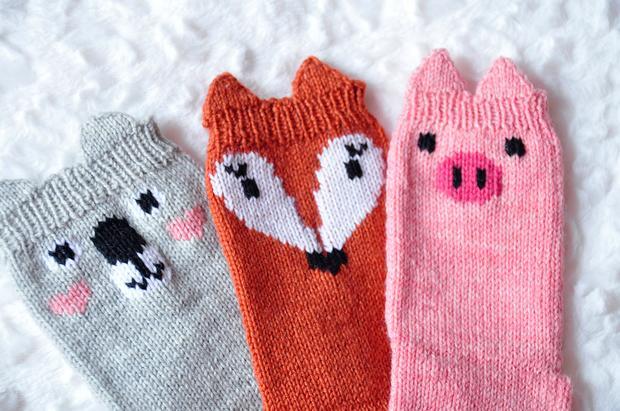 Pawsome Pals Animal Socks Knitting Patterns And Crochet Patterns
