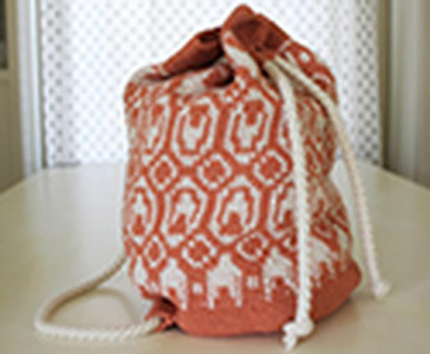 Kaia Backpack Knitting Patterns And Crochet Patterns From