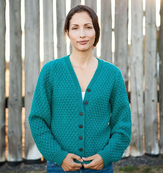 99fca90c4 Cobblestone Cardigan - Knitting Patterns and Crochet Patterns from ...