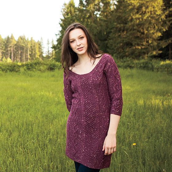 Hourglass Sweater Dress Knitting Patterns And Crochet Patterns