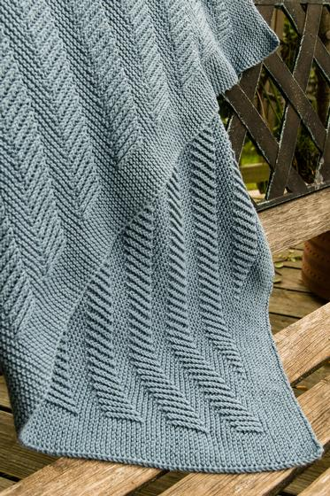 Oskar S Blanket Plain And Simple Knitting Patterns And