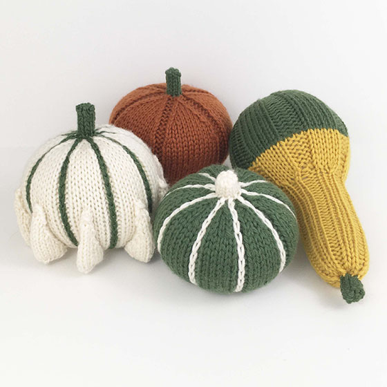 Decorative Gourd Set Knitting Patterns And Crochet Patterns From