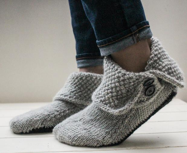 3-in-1 Button Boots - Knitting Patterns and Crochet Patterns from ...