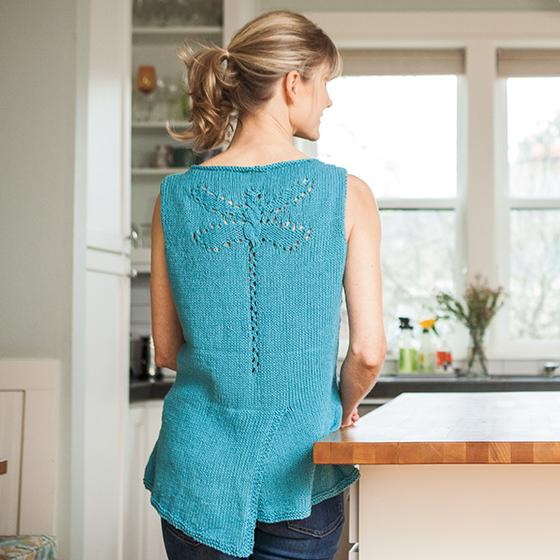 Dragonfly Tank Top Knitting Patterns And Crochet Patterns From