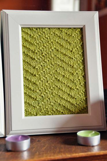 Aztec Textures Knitted Wall Art - Knitting Patterns and Crochet ...