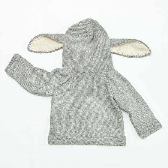 Bunny Ears Hoodie Knitting Patterns And Crochet Patterns From
