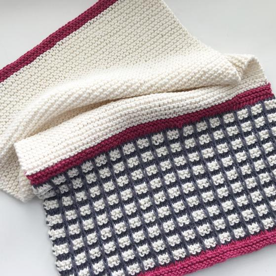 Delia Dish Towel - Knitting Patterns and Crochet Patterns from ...