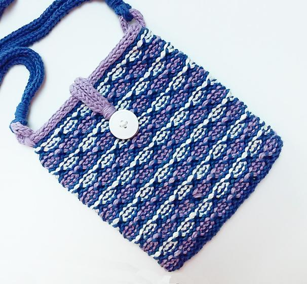 Lotus Flower Bag Knitting Patterns And Crochet Patterns From