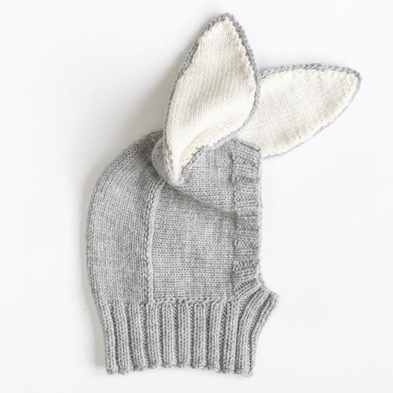 Bunny Ears Hat - Knitting Patterns and Crochet Patterns from ...