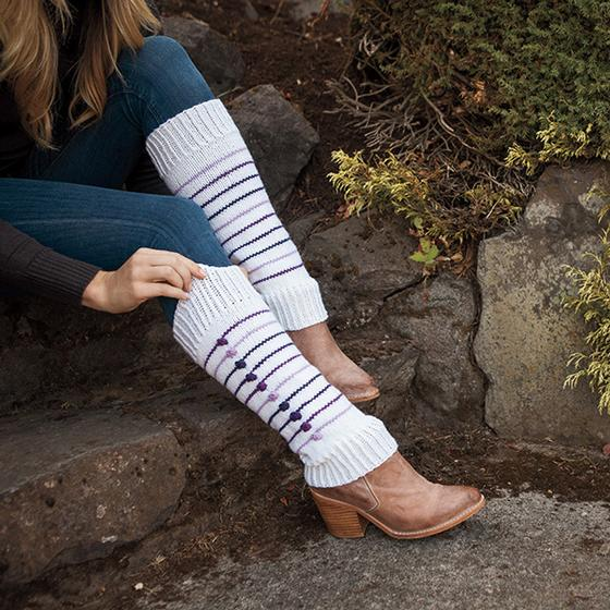 Eclate Leg Warmers Knitting Patterns And Crochet Patterns From