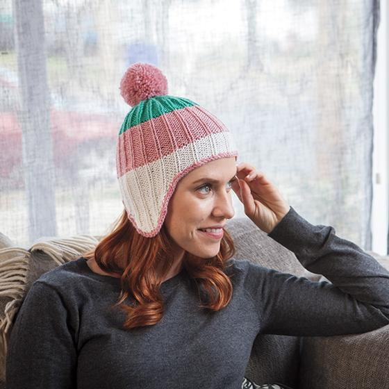 618a0f4465a Cheery Amelia Hat - Knitting Patterns and Crochet Patterns from ...