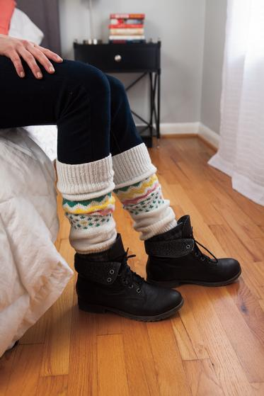 Kapowski Leg Warmers - Knitting Pattern
