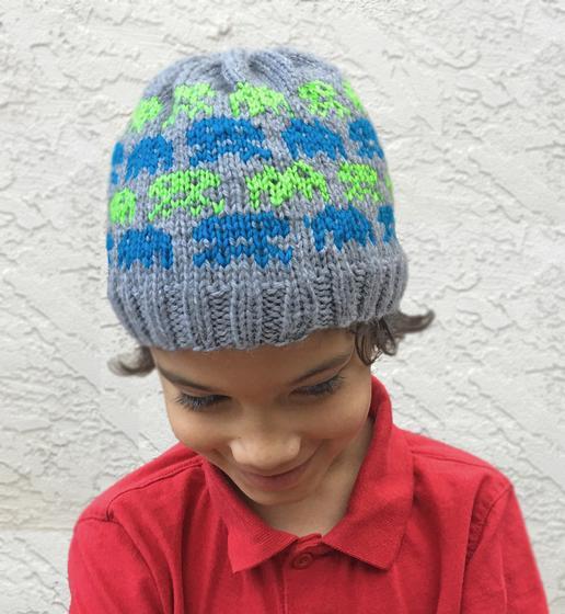 d0a4a381e56 Alien Invasion Beanie - Knitting Patterns and Crochet Patterns from  KnitPicks.com
