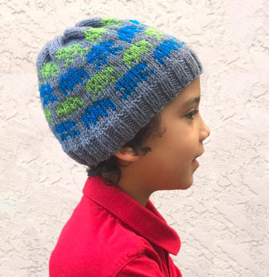 Alien Invasion Beanie Knitting Patterns And Crochet Patterns From