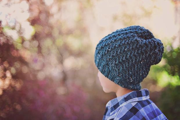 ebe314245e5 Ripple Slouch Beanie - Knitting Patterns and Crochet Patterns from  KnitPicks.com