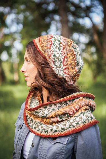 Summer Wanes Cowl And Hat Knitting Patterns And Crochet Patterns