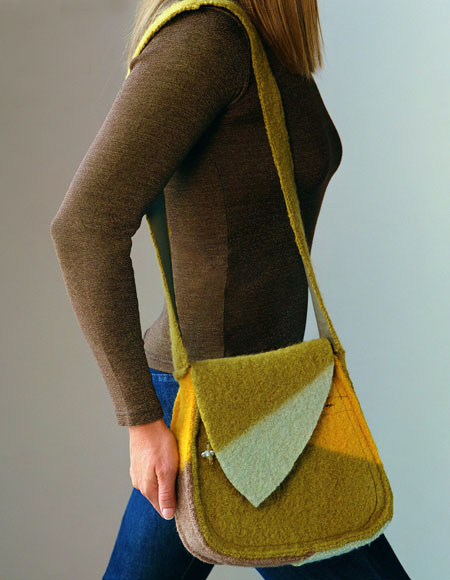 Sassy Shoulder Bag Pattern Knitting Patterns And Crochet Patterns
