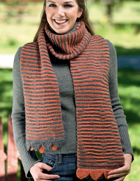 Hidden Cat Scarf Pattern Knitting Patterns And Crochet Patterns