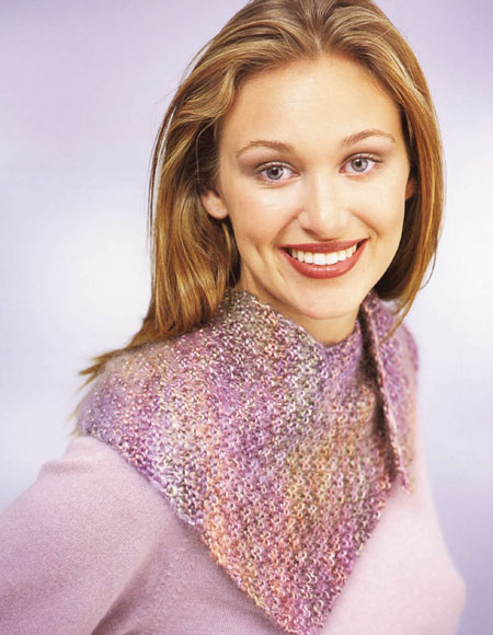 Diagonal Scarf Pattern Knitting Patterns And Crochet Patterns From