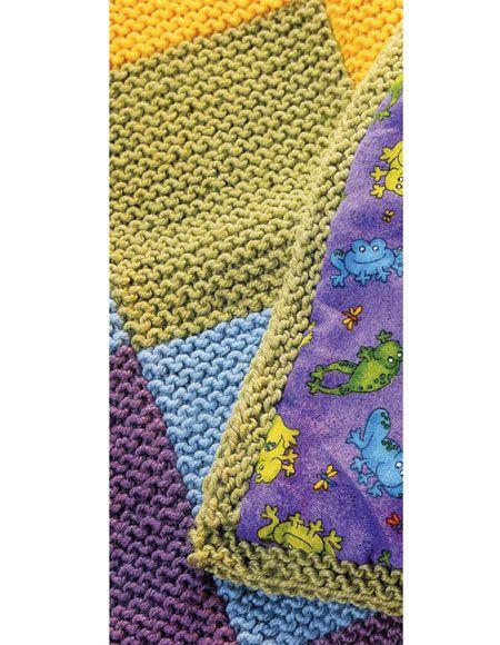 Patchwork Blanket Pattern Knitting Patterns And Crochet Patterns
