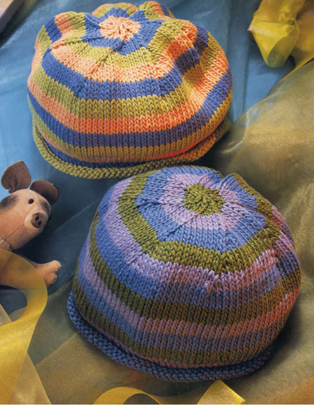 Rolled Edge Hat Pattern Knitting Patterns And Crochet Patterns