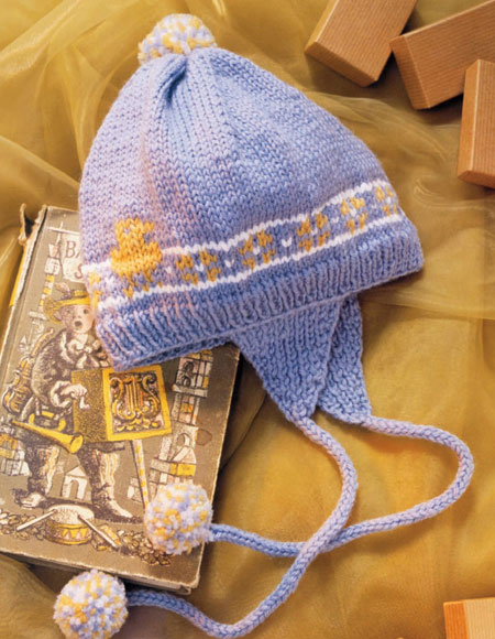 Earflap Hat Pattern Knitting Patterns And Crochet Patterns From