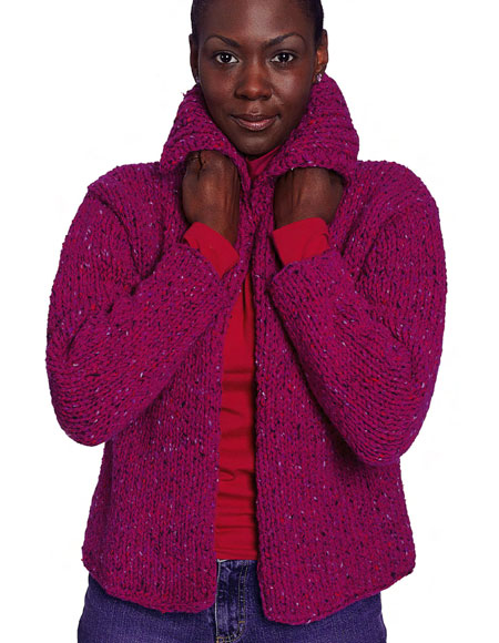 Comfy Car Coat Pattern Knitting Patterns And Crochet Patterns From