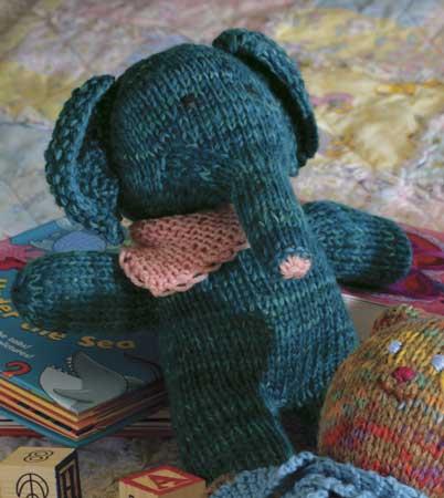 Large Elephant Knitting Pattern : Elephant Pattern - Knitting Patterns and Crochet Patterns from KnitPicks.com ...